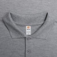 Polo Shirt / Wangki / Kaos berkerah Y&S Maxi Soft Misty Abu Muda