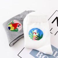 S/62 Kaos Kaki Bird Parrot Premium Cotton Casual Unisex