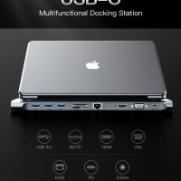 Converter Vention CMC Type-C Docking All In One Adapter - Toko Cabang