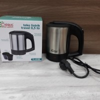 CYPRUS ELECTRIC TRAVEL KETTLE 0.5L + 2 CUP / TL-0185