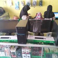 PAKET KOMPUTER KARAOKE HDD 2 TB + 40 RIBU LAGU LCD/LED 16IN WIDE