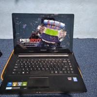 Laptop Gaming Lenovo Core i3 VGA AMD Mulus Bekas Seken Kuat maen pes