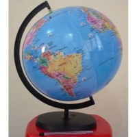 mainan world globe tiup balon udara peta bola dunia bumi earth atlas