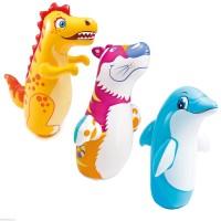 balon tinju 3d bop bags intex 44669 boneka pukul dino tiger dolphin