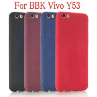 Softcase TPU Macaron Ultra Thin Matte Slim Case Cover Casing Vivo Y53