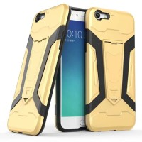 Softcase TPU Transforme Kick Stand Armo Cover Case Casing Oppo A59F1S