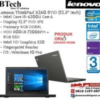 LENOVO ThinkPad X260 8YID Intel Core i5-6200U/4GB/500GB+8GB/Win10Pro