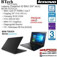 LENOVO ThinkPad X1 0BID Carbon Intel Core i7-7500U/8GB/512GB/Win10Pro