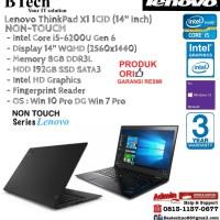 LENOVO ThinkPad X1 1CID Carbon Intel Core i5-6200U/8GB/192GB/Win10Pro
