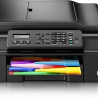 Printer Brother All-in-One Multi-function Print Scan Copy & Fax J200