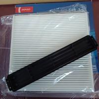 paket filter ac kabin cabin udara + cover kit honda brio,mobilio,brv
