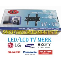 Bracket untuk TV Sharp , Samsung, LG , dll LED ukuran 14 - 32