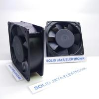 Kipas AC 220V 9x9 CM - Fan AC 220 Volt - Kipas Pendingin Elektronik
