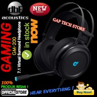 dbE Acoustics GM200 / GM 200 7.1 Virtual Surround Gaming Headphone