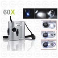 60x mini microscope senter / mikroskop batu mini zoom 60 x no 9592