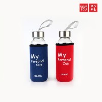 Usupso 3022 cloth set insulated glass (300ml) / Botol Minum