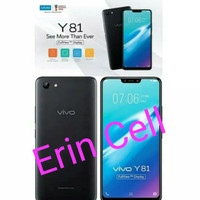 Hp [NEW] VIVO Y81 Ram 3GB Internal 32GB -Garansi Resmi Vivo - Black
