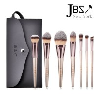 JBS New York Kuas Makeup Brush 7 Set - Make Up Set Dompet Kuas K066