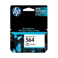 HP 564 Original Ink Catridge Tinta Printer Black foto ORIGINAL