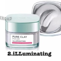 LOREAL pure clay mask asli