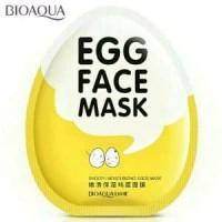 Bioaqua Egg Face Mask Masker Wajah Telur Bioaqua asli