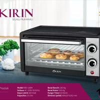 KIRIN Oven Listrik KBO 100 M - KBO100M KBO-100M Garansi Resmi