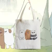 Tote Bag We Bare Bears