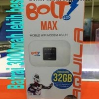Wifi BOLT Aquila MAX BATRAI 3000MAH Bonus 32gb komputer computer murah