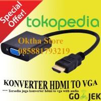 KONVERTER / Converter HDMI TO VGA / KABEL HDMI komputer computer murah