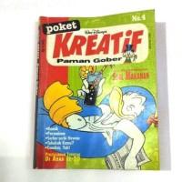 Komik Poket Kreatif Paman Gober No 4 .