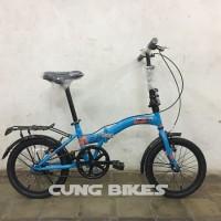 Big promo Sepeda Lipat United Stylo ukuran 16 Stock terbatas