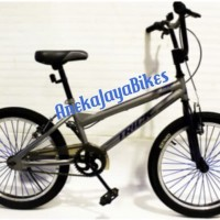 Original Sepeda Anak BMX 20 Genio Trick by United GREY SNI Terlaris