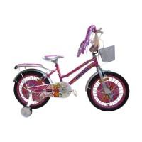 Original Sepeda Anak mini 16 united molly pink SNI Terlaris