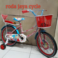 Original sepeda anak 18 inch montana frozen SNI Terlaris