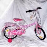 Original Sepeda lipat anak family violet 16 SNI Terlaris