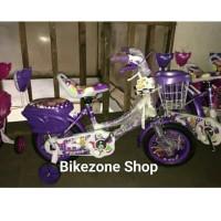 Original Sepeda Anak Perempuan Mini Exotic 12 inch 3 7 tahun SNI Terl
