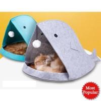 JE Tempat Tidur Hewan Binatang Anjing Kucing F60 Portable Kandang Mini