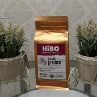 HiBO Kopi Organik Arabika Papua, 200 Gram, Dark French (Ground/Bubuk)