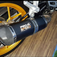 Harga fs knalpot pro speed black series db killer honda sonic 150r | Pembandingharga.com