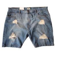 EASTLORE Hard RIPPED SHORT Pant Jeans BIGSIZE - Celana Pendek Jumbo