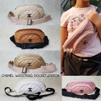 Harga tas murah tas wanita waist bag tas pinggang chanel waistbag | antitipu.com