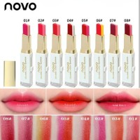 Lipstik Novo Two Tone Double Colour Ombre Terlaris