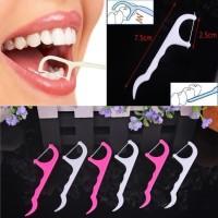 Tusuk Gigi Benang / Dental Floss Isi 24 Pcs