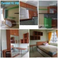 Room set apartmen furniture duco hpl