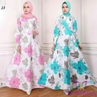 maxi emy 23 pink toska baju gamis wanita terbaru busana muslim murah d20ee49c66