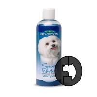 biogroom 12 oz dog super white shampoo
