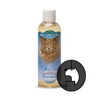 biogroom 8 oz cat silky cat protein lanolin shampoo