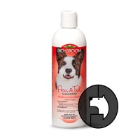 biogroom 12 oz dog flea and tick shampoo