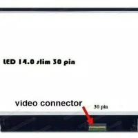 LED LCD 14.0 SLIM 30 Pin Laptop Asus X441S X441UA X441SA X441N X441NA