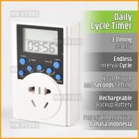 Digital Cycle Timer Switch - Stop Kontak - Endless Loop / Circulation